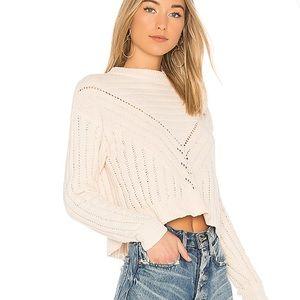 💥SALE💥 Lovers + Friends Moon Crop Sweater
